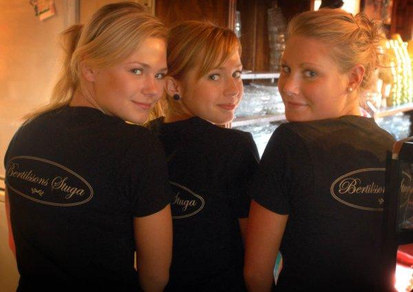 Linda Eriksson, Linn Andersson & Ebba Carlsson