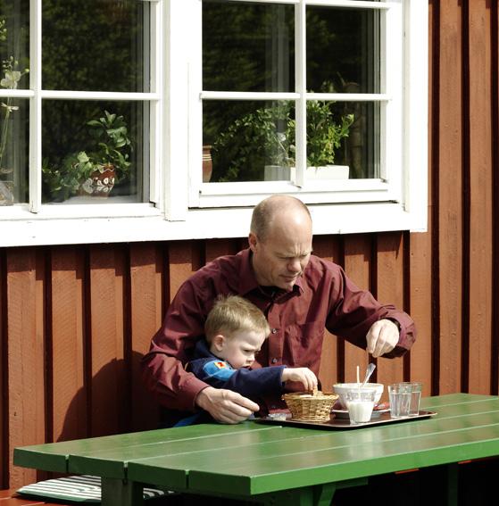 Joakim och pappa Magnus 2007
