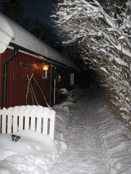 Magisk vinterkväll