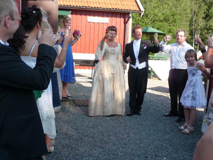 Pia & Niklas bröllop 2009
