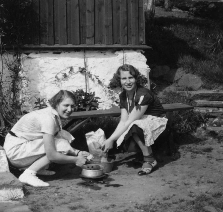 Potatisskalning vid Lilltorpet