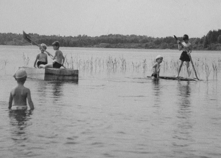 Bad i Lilla Delsjön