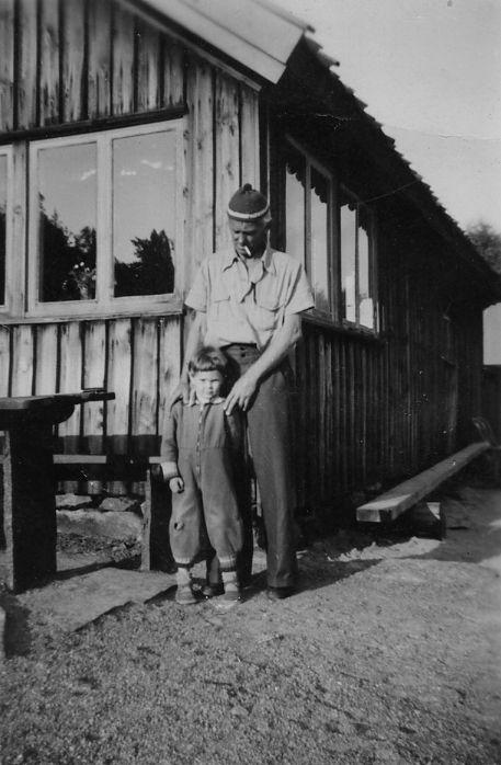 Pelle och hans barnbarn Hans