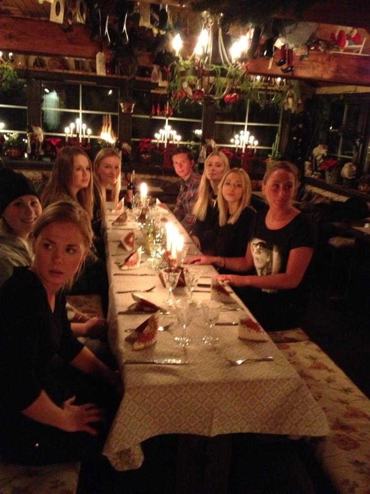 Julfest med personal
