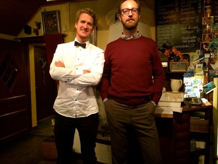 Hannes & Jesper håller Quiz i stugan hösten 2015