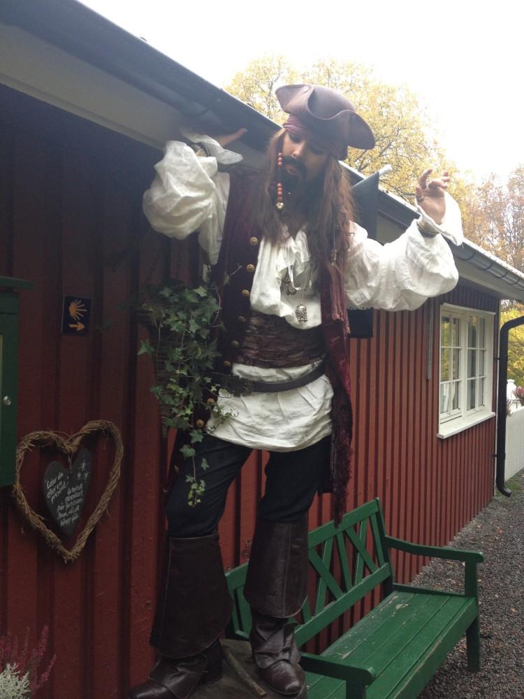 Jack Sparrow på besök